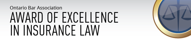 Award of Excellence in Insurance Law