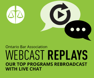 Webcast Replays
