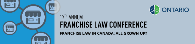 Title Banner - 17th Annual Franchise Law Conference