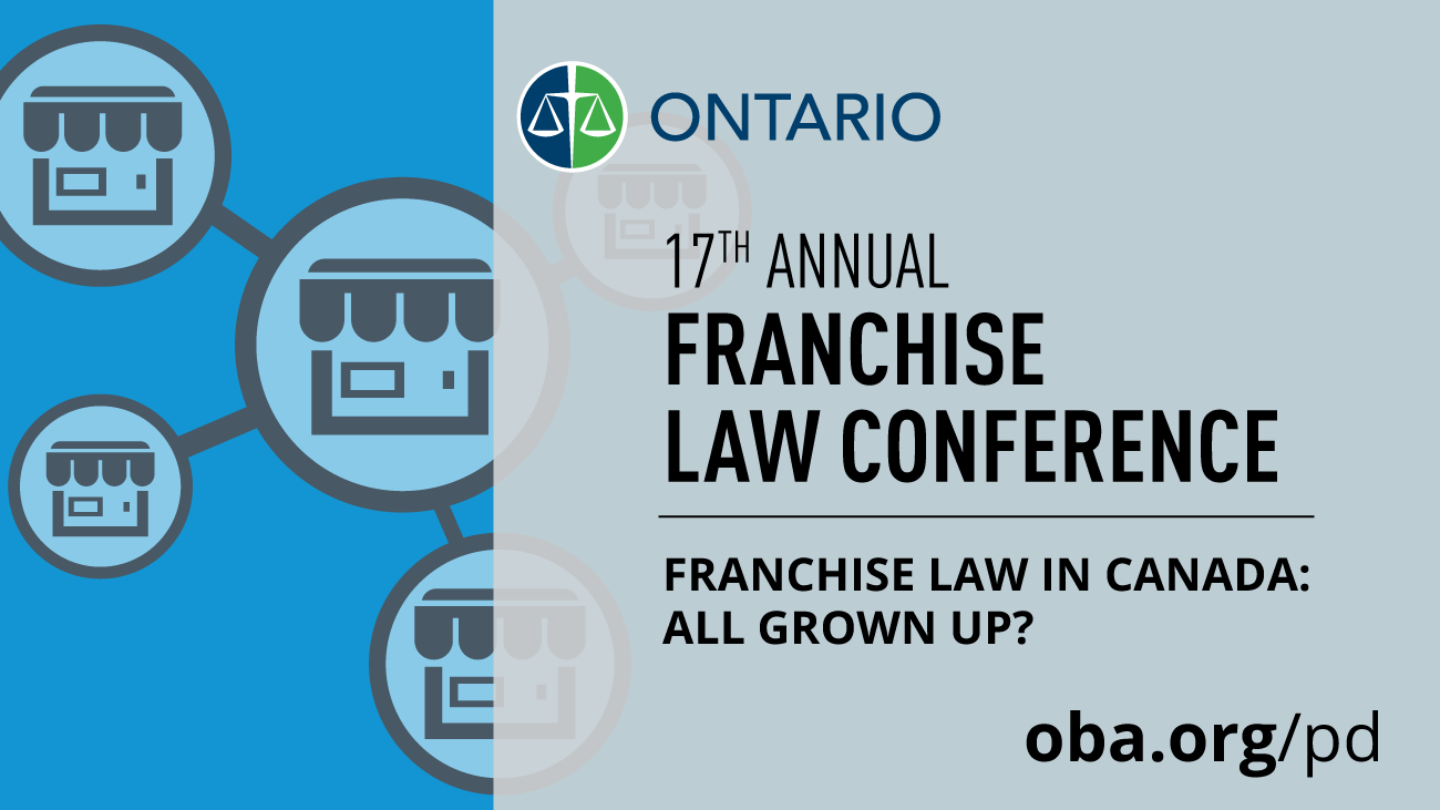 17th Annual Franchise Law Conference