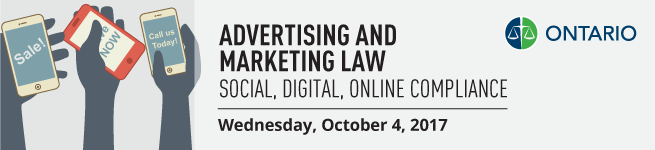 Title Banner - Advertising & Marketing Law