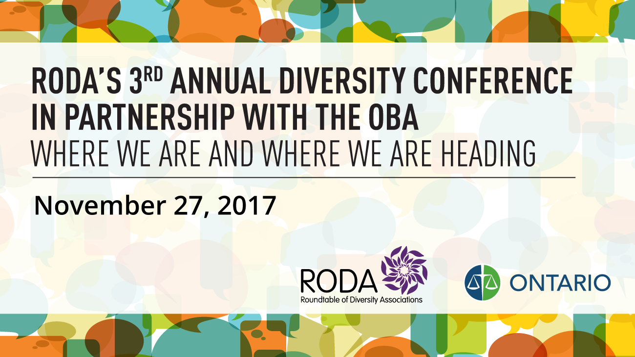 RODA's Annual Diversity Conference