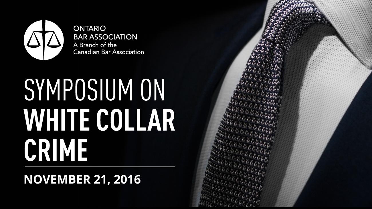 Symposium on White Collar Crime