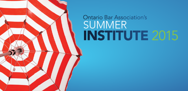 SUMMER INSTITUTE IS BACK!