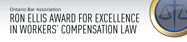 Ron Ellis Award for Excellence in Workers' Compensation Law
