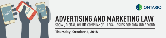 Title Banner - Advertising and Marketing Law