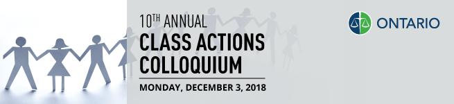 10th Annual Class Actions Colloquium
