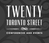 Twenty Toronto Street Conferences and Events