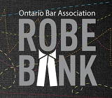 Ontario Bar Association Robe Bank
