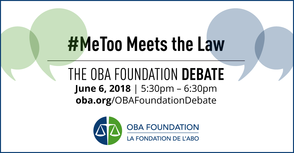 OBA Foundation Debate