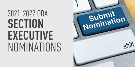 2021-2022 OBA Section Nominations