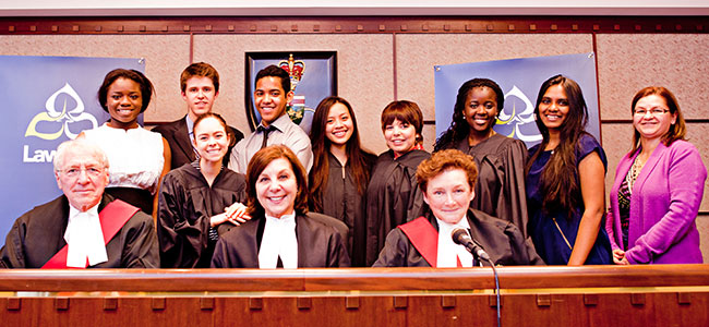 Secondary School Mock Trials